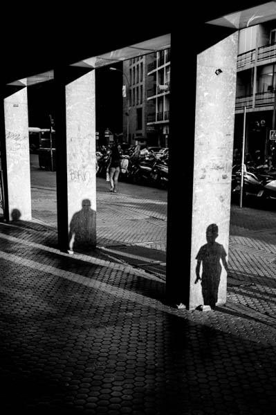 """Shadow Columns"" ©Michael J. Locke"